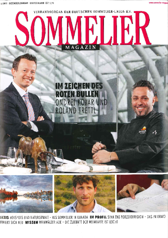"[Translate to Japanisch:] Cover ""Sommelier"""