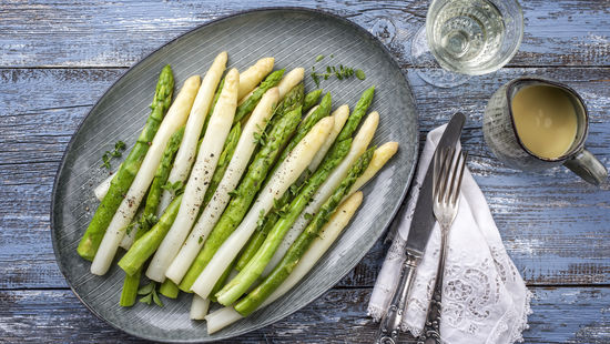 Asparagus and Wine