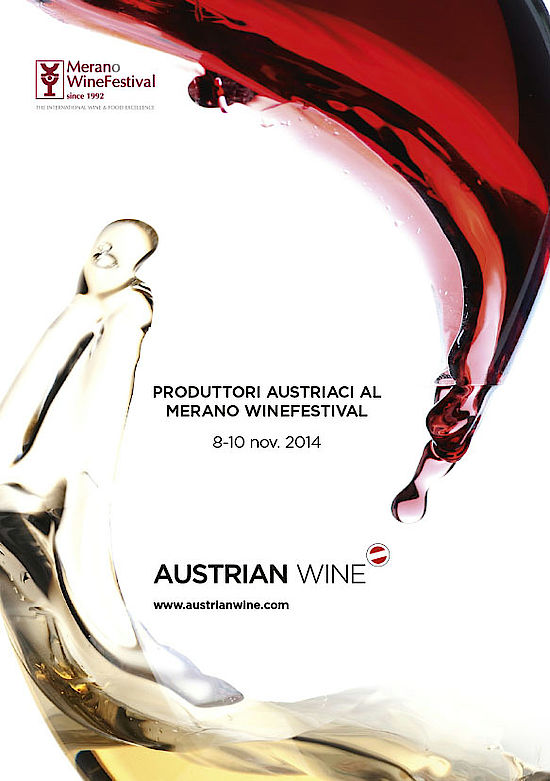 This picture shows the cover of the Merano WineFestival 2014