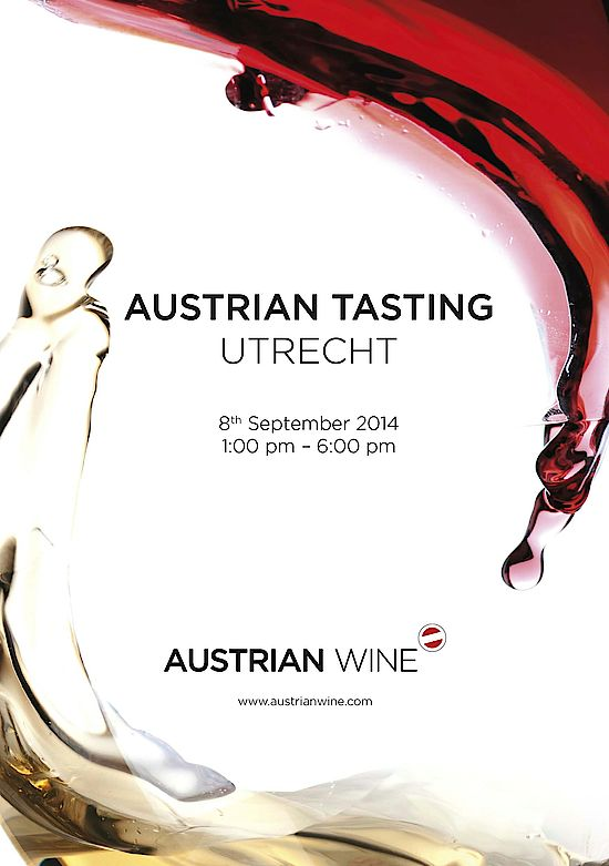 This Picture shows the cover of the Austrian Tasting Utrecht 2014 catalogue