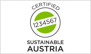 A picture shows the Sustianable Austria Logo